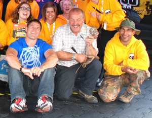 Pete the Bug Man at Live 'n' Deadly in Birmingham